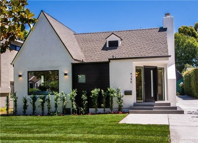 Studio City Single Family Home For Sale: 4150 Bakman Avenue