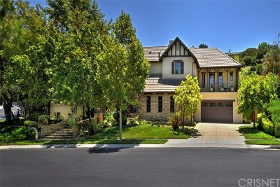 Brentwood, Calabasas, West Hills, Woodland Hills Single Family Home For Sale: 25300 Prado De Ambar