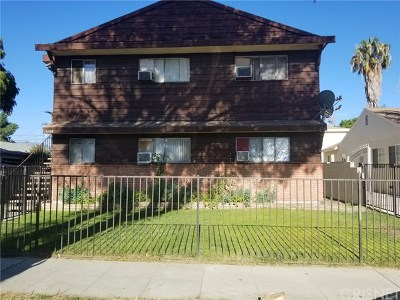 North Hollywood Multi Family Home For Sale: 6628 Beck Avenue