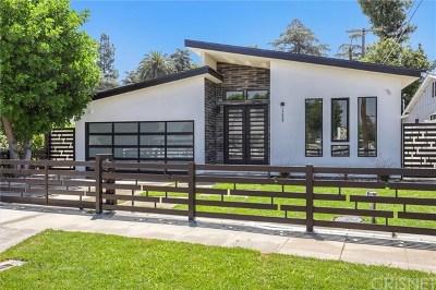 Sherman Oaks Single Family Home For Sale: 13428 Cumpston Street