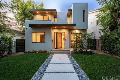 Studio City Single Family Home For Sale: 12211 Cantura Street