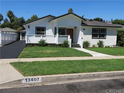Valley Glen Single Family Home For Sale: 13407 Sylvan Street