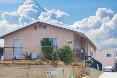 Los Angeles Multi Family Home For Sale: 1136 S Evergreen Avenue