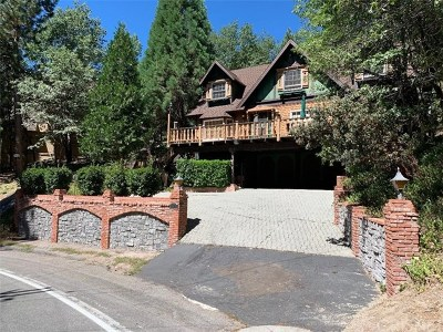 Lake Arrowhead Single Family Home For Sale: 180 Brentwood Drive