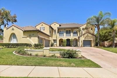 Corona Single Family Home For Sale: 1101 Cleveland Way