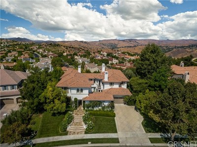 Brentwood, Calabasas, West Hills, Woodland Hills Single Family Home For Sale: 4189 Prado De Los Pajaros