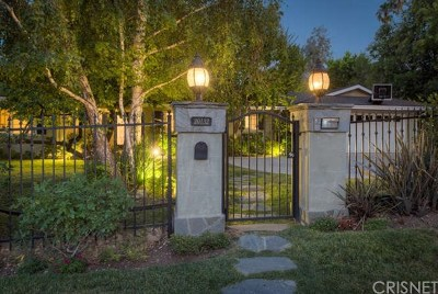 Brentwood, Calabasas, West Hills, Woodland Hills Single Family Home For Sale: 20132 Allentown Drive
