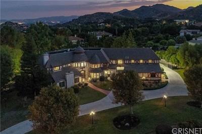 Chatsworth Single Family Home For Sale: 22570 La Quilla Drive
