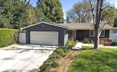 Sherman Oaks Single Family Home For Sale: 4716 Mary Ellen Avenue