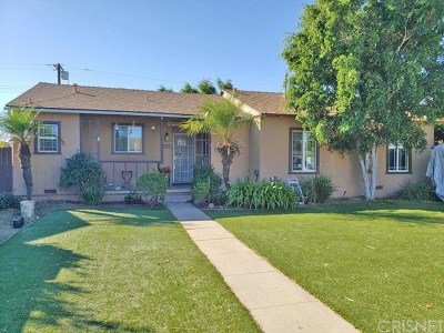 Mission Hills Single Family Home For Sale: 15120 Septo Street