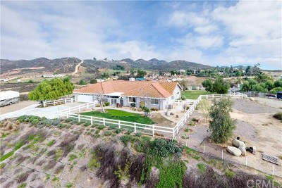 Menifee Single Family Home For Sale: 33810 Sunset Avenue
