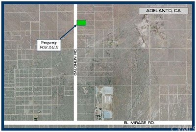 Adelanto Residential Lots & Land For Sale: Caughlin Road