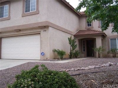 Lake Elsinore Single Family Home For Sale: 31701 Ridgeview Drive