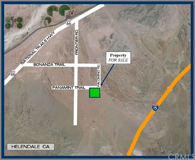Helendale Residential Lots & Land For Sale: Panamint Trail