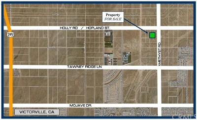 Victorville Residential Lots & Land For Sale: Near Hopland Street