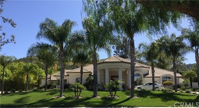 Murrieta Single Family Home Active Under Contract: 22295 Bear Creek S Drive