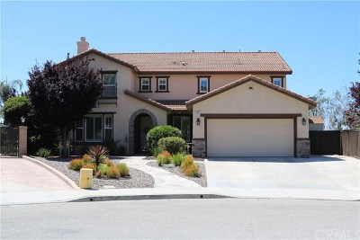 Murrieta Single Family Home For Sale: 23673 Bellwood Court