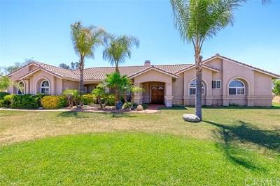 Menifee Single Family Home For Sale: 32201 Evans Road