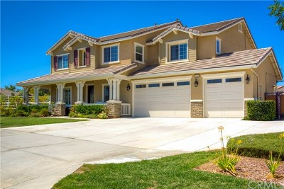 Menifee Single Family Home For Sale: 31667 Tramore Circle
