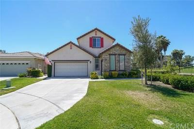 Menifee Single Family Home For Sale: 28365 Raintree Drive