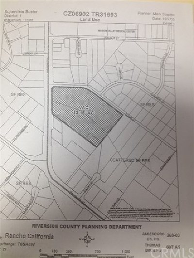 Residential Lots & Land For Sale: Mission Trail