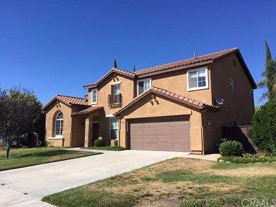 Murrieta Single Family Home For Sale: 40386 Rosewood Street