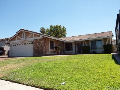 Moreno Valley Single Family Home For Sale: 12810 Gorham Street