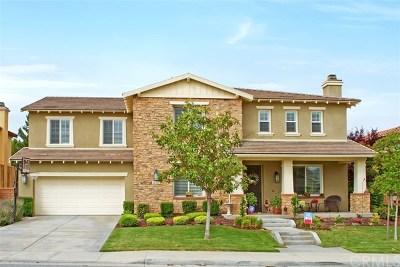 Winchester Single Family Home Active Under Contract: 32767 Presidio Hills Lane