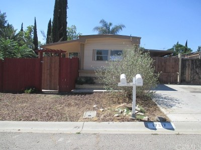 Perris Manufactured Home For Sale: 17217 Cajon Drive