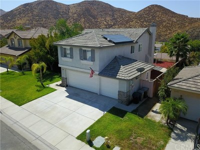 Lake Elsinore Single Family Home For Sale: 31743 Indian Spring Road