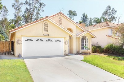 Murrieta Single Family Home For Sale: 24630 Leafwood Drive