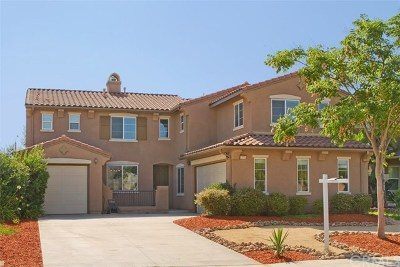 Murrieta Single Family Home For Sale: 31713 Whitecrown Drive