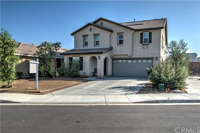 Perris Single Family Home For Sale: 3391 Cabrillo Court