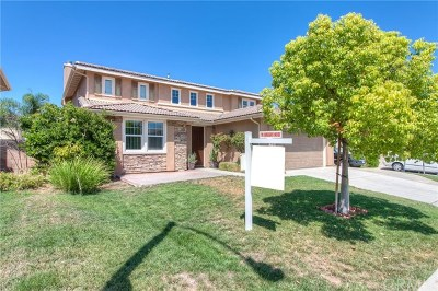 Perris Single Family Home For Sale: 3556 Crevice Way