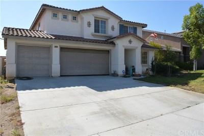 Menifee CA Single Family Home For Sale: $389,000