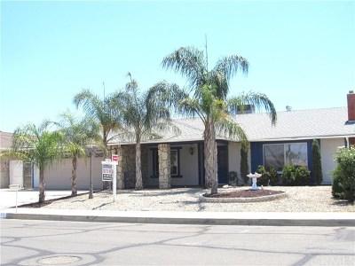 Menifee Single Family Home For Sale: 27377 Presley Street