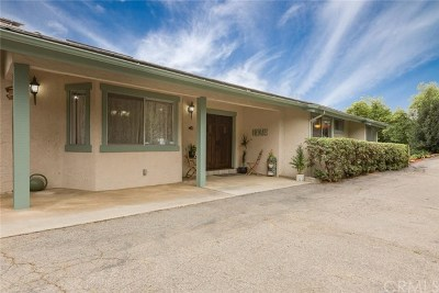 Fallbrook Single Family Home For Sale: 2575 Wilt Road