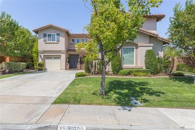Temecula Single Family Home For Sale: 31600 Champions Circle