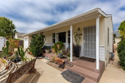 Costa Mesa Single Family Home For Sale: 206 E 15th Street