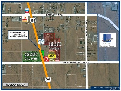 Adelanto Residential Lots & Land For Sale: 17770 Jonathan Street