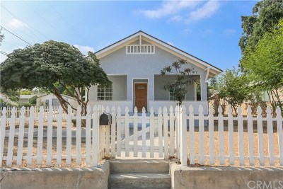 Corona Single Family Home For Sale: 510 E 8th Street