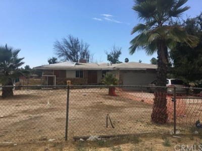 Perris Single Family Home For Sale: 17915 Brown Street
