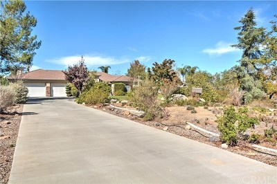 Perris Single Family Home Active Under Contract: 17111 Birds Eye Drive