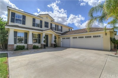 Menifee Single Family Home For Sale: 28525 Meadow View Drive