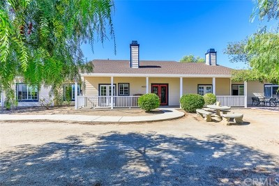 Temecula Single Family Home For Sale: 40515 Denise Road