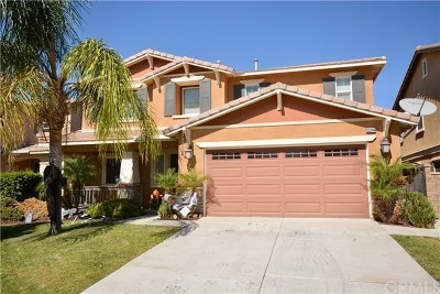 Lake Elsinore Single Family Home Active Under Contract: 53244 Bonica Street