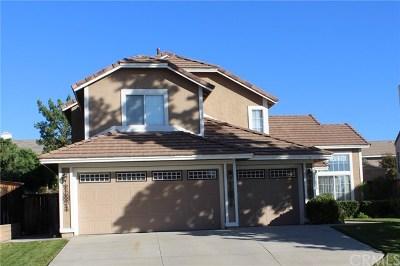 Murrieta CA Single Family Home Active Under Contract: $439,000