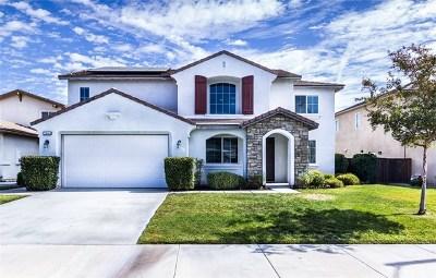 Murrieta CA Single Family Home For Sale: $589,900