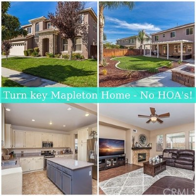 Murrieta Single Family Home For Sale: 33617 Nandina Lane