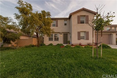Winchester Single Family Home For Sale: 31553 Meadow Lane